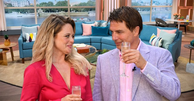 John Barrowman and Emily Atack to host This Morning on Friday Picture: Rex
