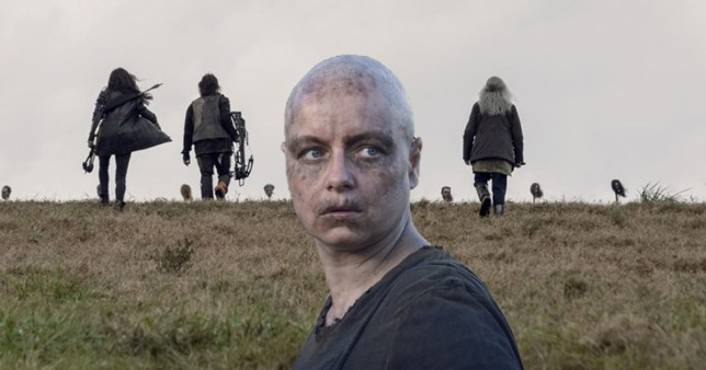 a365bae20 The Walking Dead cast reveal unsettling secret from Alpha's season 9 finale  disguise