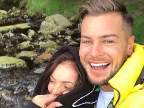 Chris Hughes and Little Mix star Jesy Nelson are all levels of adorable as they enjoy romantic getaway