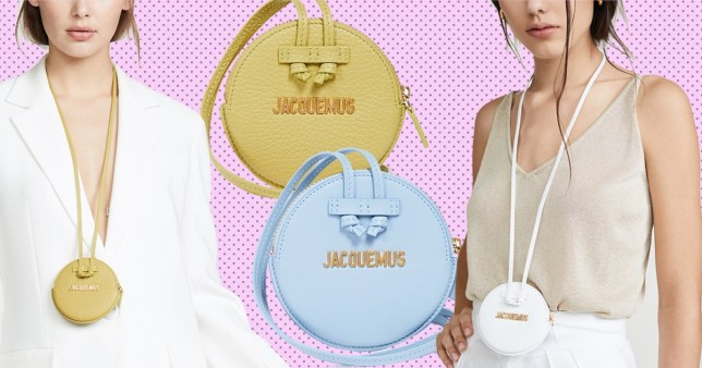 91797201f7c Fannypacks are a thing of the past, we're now wearing necklace bags ...