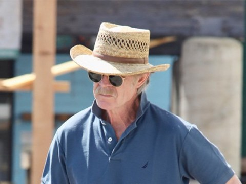 Felicity Huffman's husband William H Macy keeps head down as wife faces months in prison