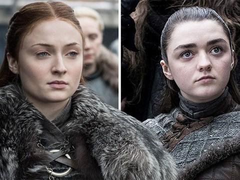 Game Of Thrones' Arya and Sansa Stark 'hate' Daenerys Targaryen when they first meet in season 8 finale