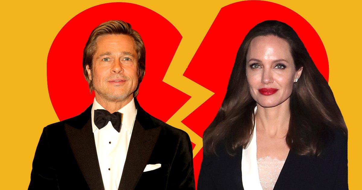 Brad Pitt and Angelina Jolie 'file to restore single status' bringing them one step closer to divorce