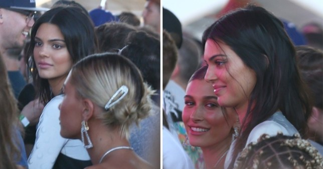 EXCLUSIVE* Kendall Jenner and Hailey Baldwin rush to the Jaden Smith show to cheer on their friend