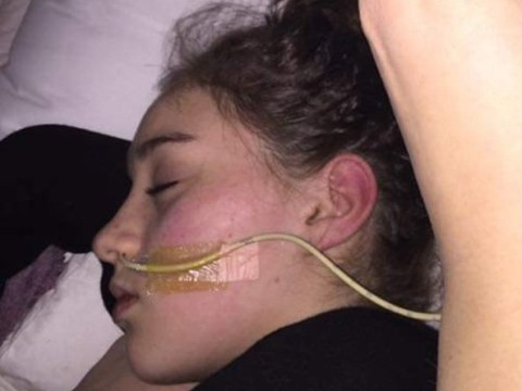 Teenager forced to be fed through tube as body believes food is poison