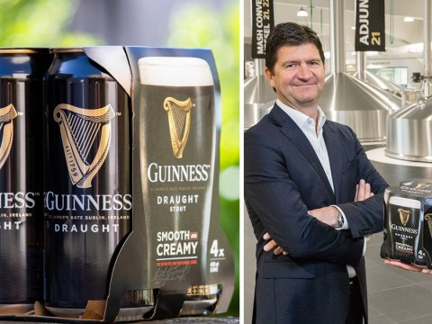 Guinness is to remove all plastic from its beer packaging