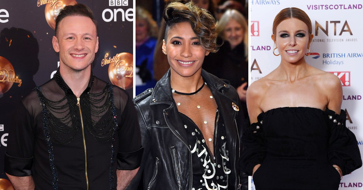 Kevin Clifton, Karen Clifton, Stacey Dooley