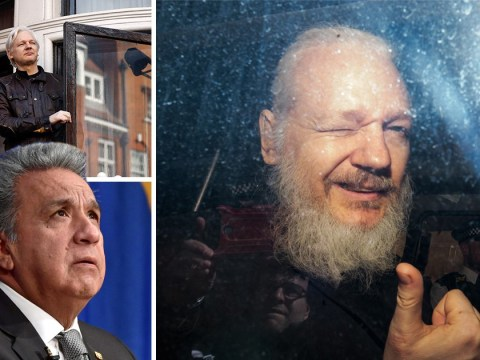 Julian Assange 'turned Ecuadorian embassy into centre for spying', says nation's president
