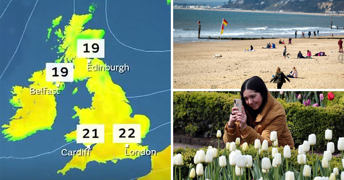 UK Easter weather could be hotter and sunnier than Mediterranean