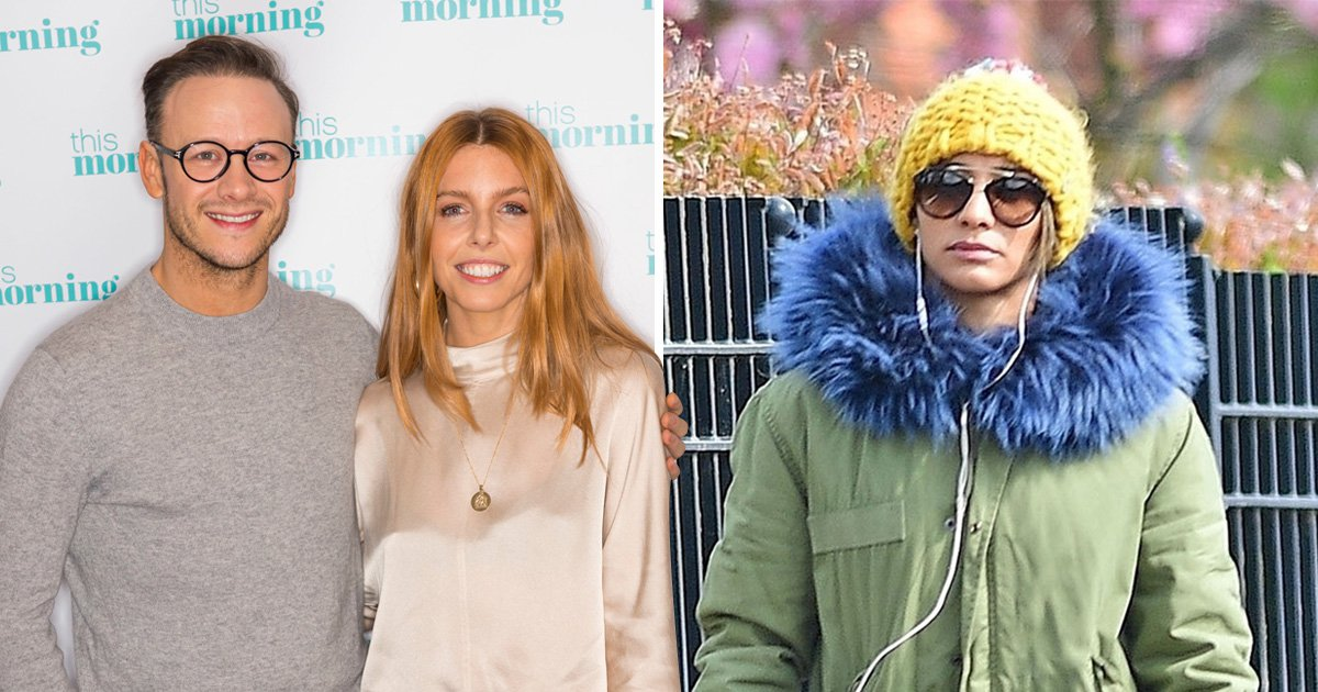 Karen Clifton pictured for first time as ex-husband Kevin 'strikes up romance with Stacey Dooley'