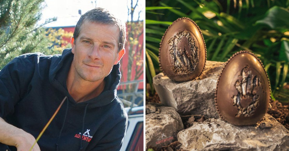 For reasons we don't understand, Easter eggs with Bear Grylls' DNA are now available