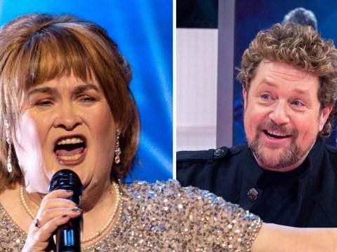 Susan Boyle unveils artwork for album Ten and single A Million Dreams with Michael Ball after Britain's Got Talent return