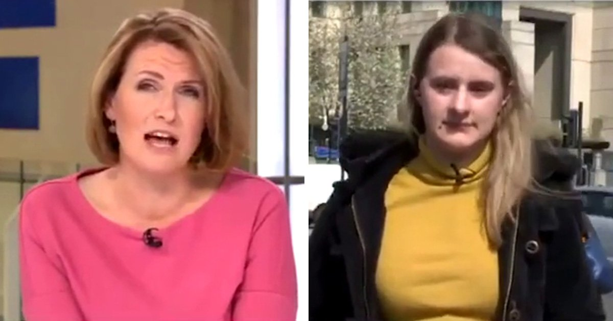 Sky News presenter slammed for 'patronising' response to young renter