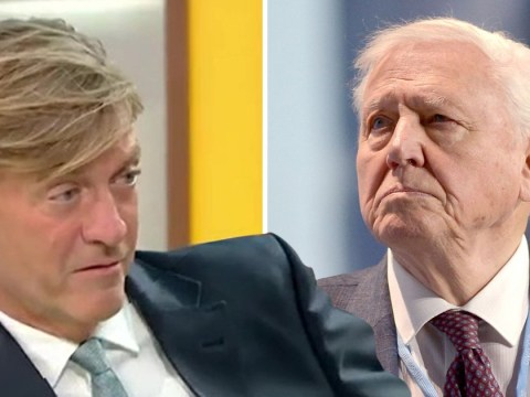 Richard Madeley disrespects Sir David Attenborough and obviously the nation is absolutely livid: 'He's not a saint'
