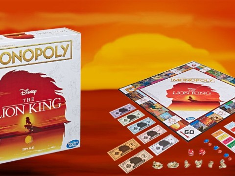 Lion King Monopoly exists and it comes with a mini Pride Rock to blast out songs from the film