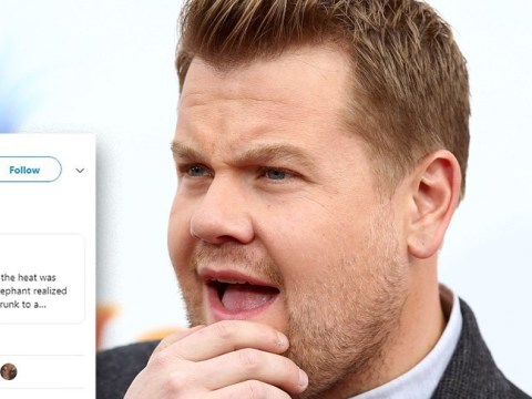 James Corden and Embarrassing Bodies' Dr Christian fall for very bad Photoshop job