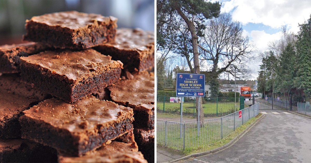 Children collapse at school after eating 'super-strength skunk brownies'