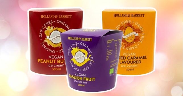 Holland & Barrett launches own-brand vegan ice-cream