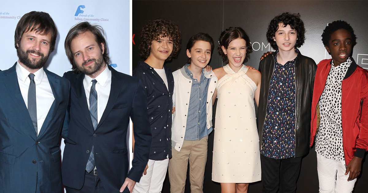 Duffer Brothers and Stranger Things Kids