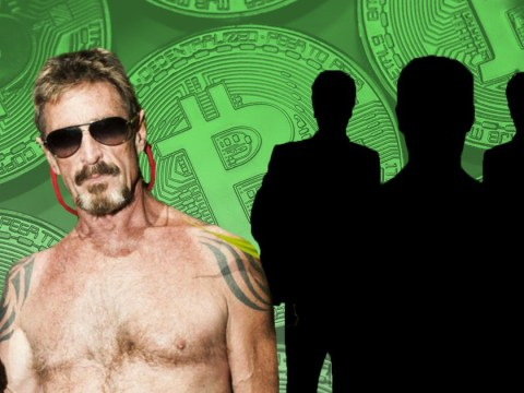 Gun-toting, drug-munching tech legend John McAfee claims he knows who invented Bitcoin