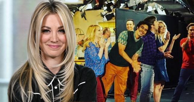 Kaley Cuoco on The Big Bang Theory