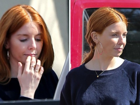 Stacey Dooley looks carefree as she is 'warned by friends' against Kevin Clifton