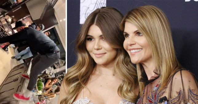 Olivia Jade asks for filming-free zone at David Dobrik's party after Lori Loughlin charged