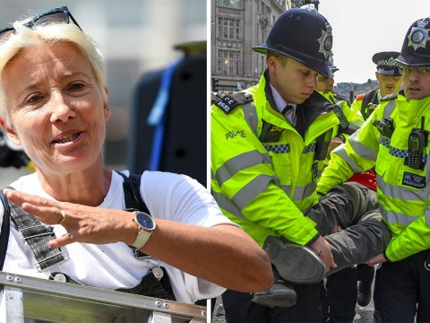 Emma Thompson says police are 'wasting taxpayers' money' by arresting Extinction Rebellion protesters