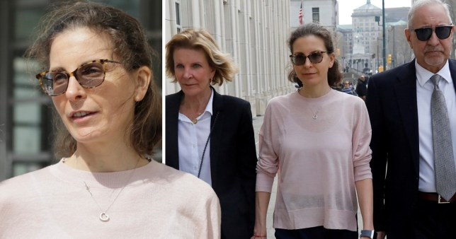 Seagram billionaire's daughter Clare Bronfman admitted her involvement in the trafficking group (Picture: AP/Reuters)