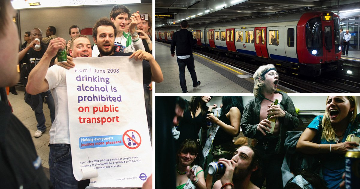 Everything you need to know about public transport drinking laws