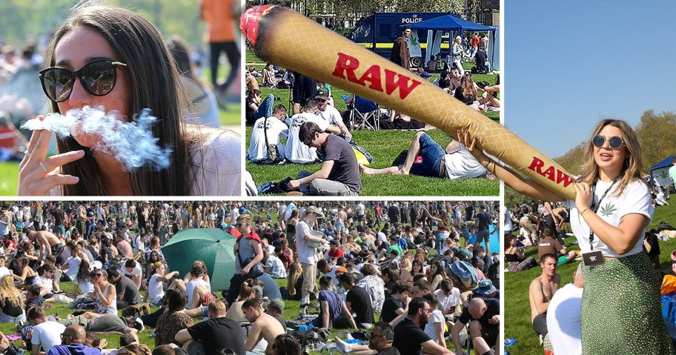 Stoners get high for 4/20 in Hyde Park
