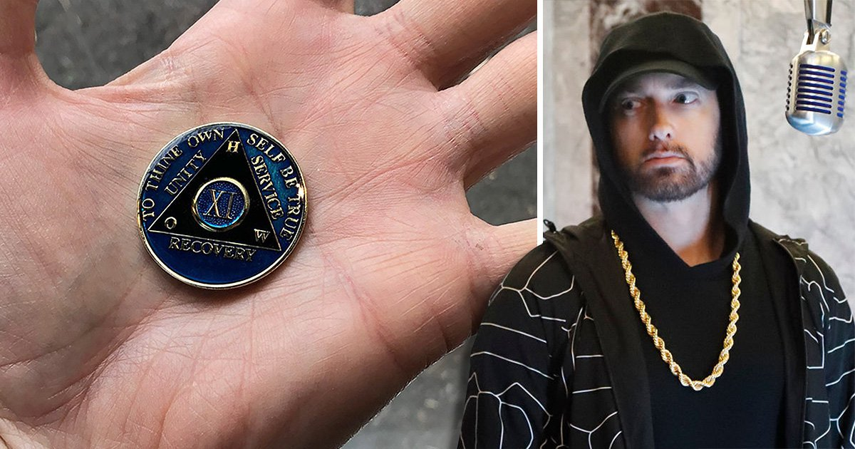 SEC_63487259 Eminem receives heaps of praise after celebrating 11 years of sobriety: 'Still not afraid'