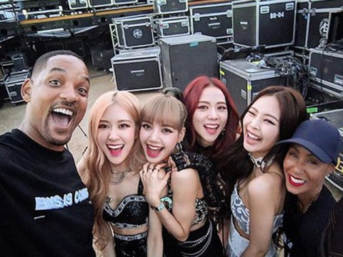 Will Smith takes selfie with BLACKPINK at Coachella 2019 and declares himself 'an official fan'