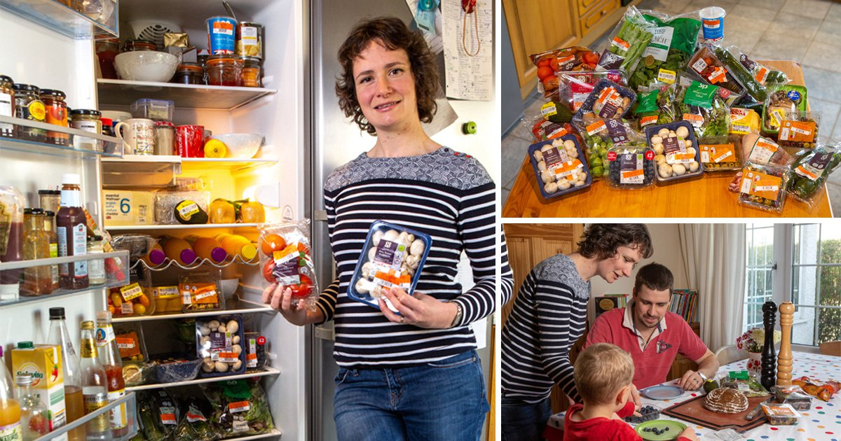 Parents spend just £20 on weekly shop, cooking discounted food and roadkill