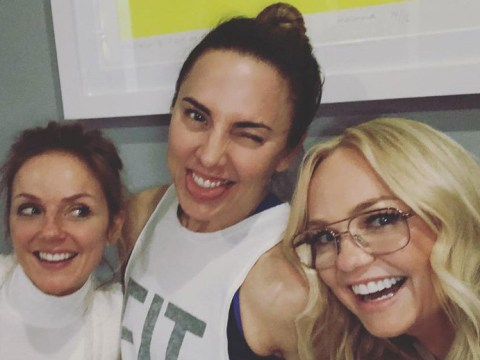 Spice Girls Emma Bunton, Geri Horner and Mel C share adorable Easter selfie without Mel B