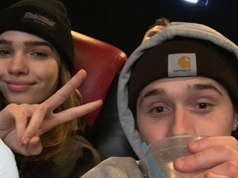 Brooklyn Beckham posts and deletes defiant selfie with Hana Cross after 'series of rows'