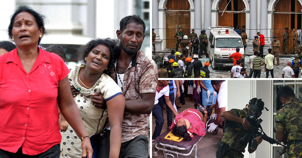 Bomb found in Sri Lankan airport hours after explosions kill 207