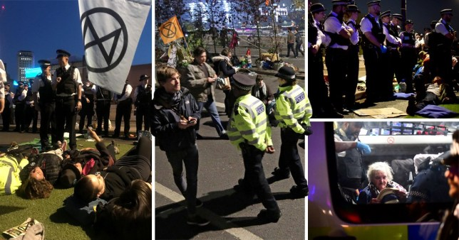 Extinction Rebellion protesters have left the streets after seven days of disruption to raise awareness of climate change (Picture: PA)
