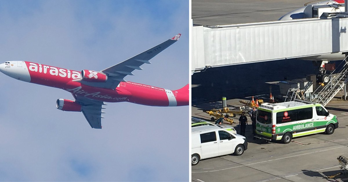 Baby dies in arms of passenger on AirAsia flight to Australia