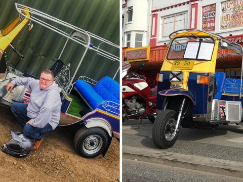 Man hoping to beat speed record in Tuk Tuk he bought on eBay while drunk