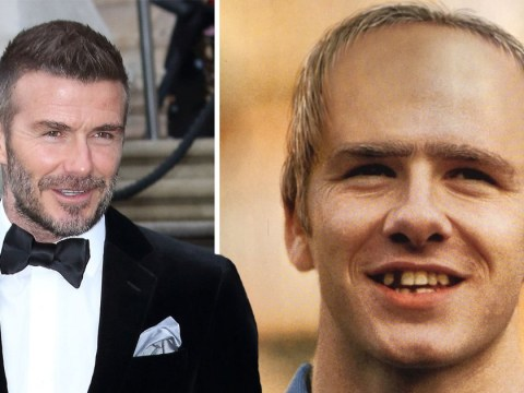 Is this David Beckham in 2020? Unflattering computer-generated image with missing teeth unearthed from 1998