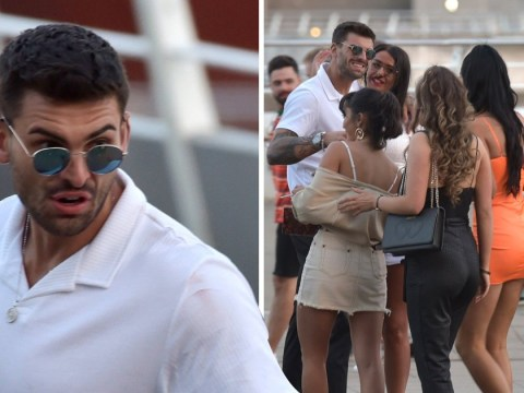Love Island's Adam Collard moves on from ex-girlfriend Zara McDermott as he laps up female attention