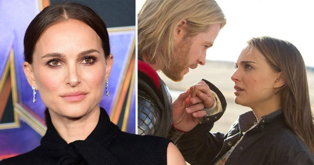 Natalie Portman at Avengers: Endgame premiere in Los Angeles and as Jane Foster in Thor