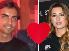 Dani Dyer's ex Sammy Kimmence accused of being 'fame-hungry' after kiss