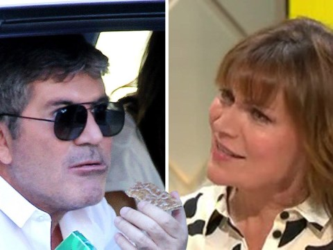 Lorraine Kelly tries to call out Simon Cowell over vegan diet as Britain's Got Talent judge receives warning from doctors