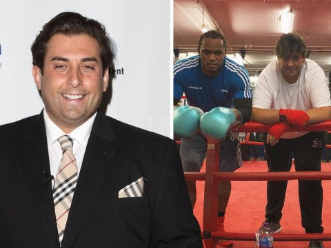 James Argent trains with boxer Anthony Yarde after 'death row' warning about weight gain