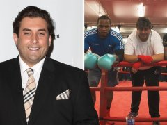 James Argent trains with boxer Anthony Yarde after weight gain warning
