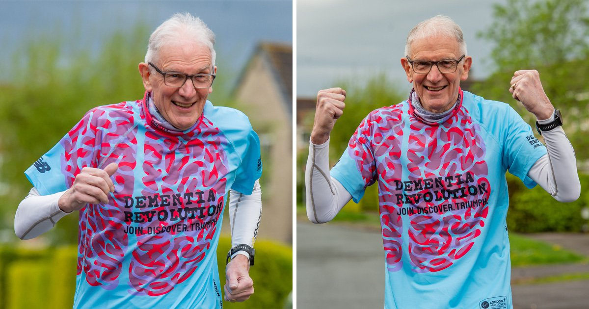 A pensioner with dementia is about to take on his 131st marathon
