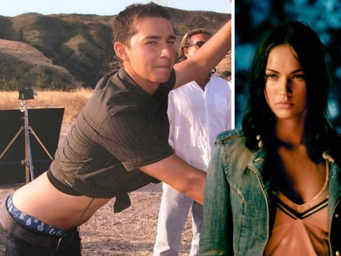 Megan Fox shares epic Transformers throwback picture of Shia LaBeouf in 2006