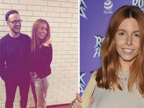 Stacey Dooley shares cosy picture with Kevin Clifton as she visits 'boyfriend' on tour